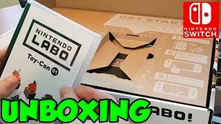 Nintendo Labo Unboxing and Tutorial (I LOVE THIS!) by Verlisify