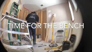 DIY Shower Boarding , Bench Building & Niche Installing