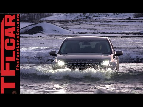 2015 Land Rover Discovery Sport Snowy Icelandic Off-Road Review in TFL4K