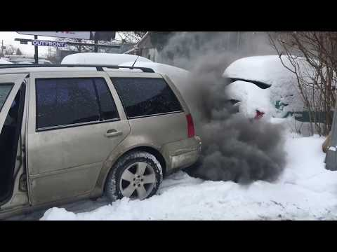Tdi cold start -31°C straight pipe