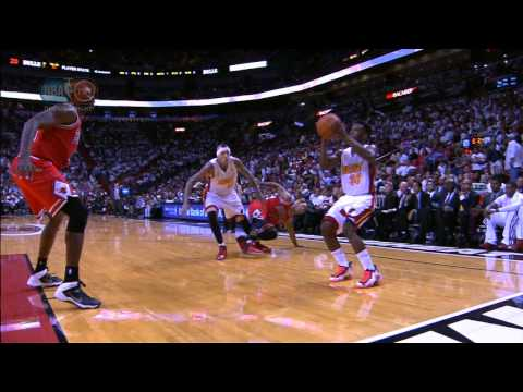 NORRIS COLE'S KILLER CROSSOVER ON DERRICK ROSE (FLOORED D ROSE OR TRIPPED?)