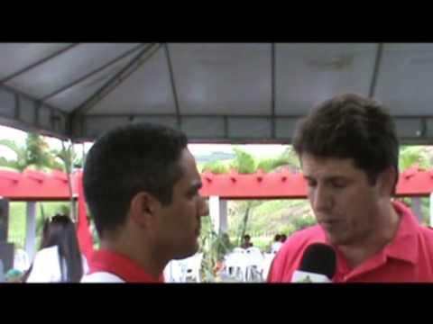 Prefeitos de Jaguaquara e Lafaiete Coutinho falam sobre VII Encontro do Mercovale 13 07 13