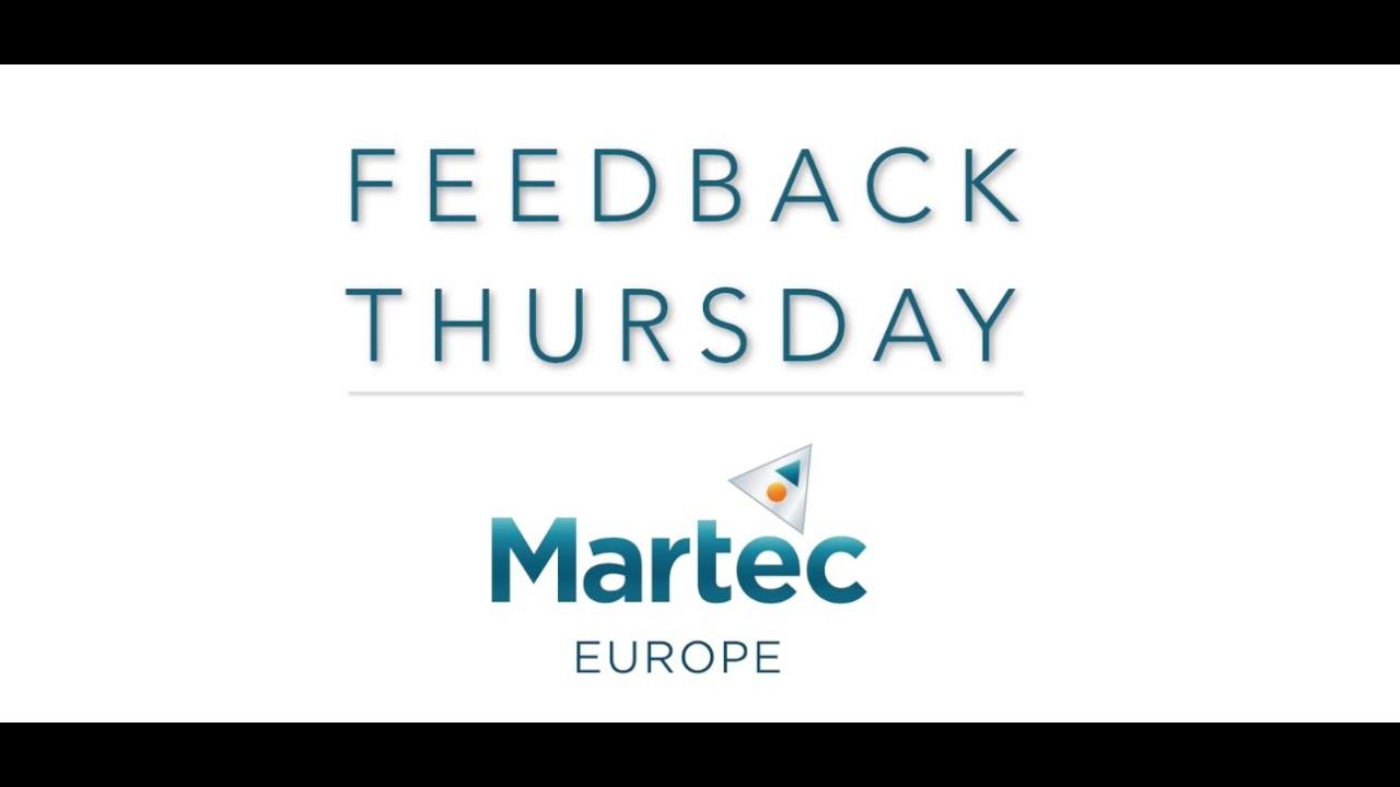 Feedback Thursday 09/01