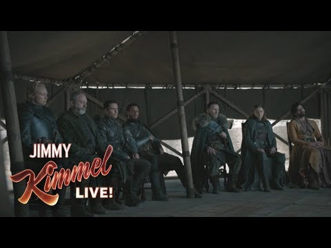 Jimmy Kimmel on Game of Thrones Finale