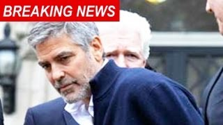 GEORGE CLOONEY ARRESTED
