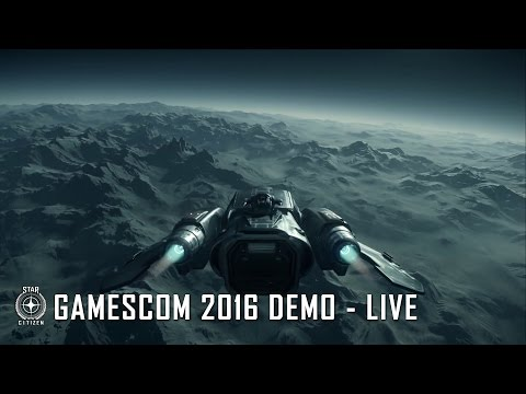 "Everything ""No Man's Sky "" wanted to be. Star Citizen: 2016 Gamescom Alpha long video but worth every moment!!!!"