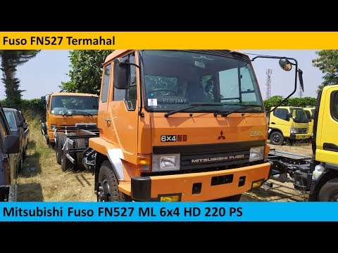 Mitsubishi Fuso FN527ML HD 6x4 review - Indonesia