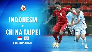 Video Indonesia (6) VS (2) China Taipei - AFC Futsal Championship 2017 U20 MP3, 3GP, MP4, WEBM, AVI, FLV Februari 2018