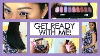 Get Ready With Me! Complete Date Look: Hair, Makeup, Outfit + Nails!