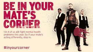 Are you in your mate's corner?