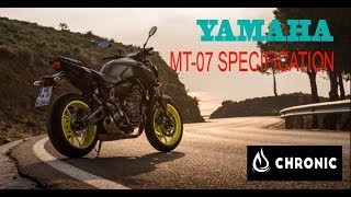 5. 2018 Yamaha MT-07 : specification