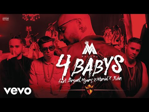 Cuatro Babys (Audio) - Maluma (Video)