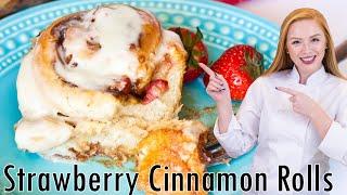Strawberry Cinnamon Rolls by Tatyana's Everyday Food