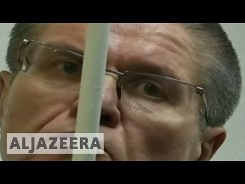 Russia Jails former minister for eight years (видео)