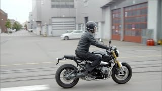 3. NEW 2014 BMW R nineT - Driving