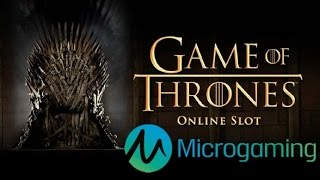 Game of Thrones review and offers: http://online.casinocity.com/slots/game/game-of-thrones/ http://www.