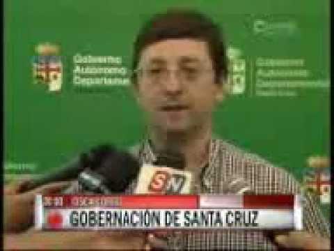 Gobernación de Santa Cruz descalifica fallo del Juez – RED UNITEL