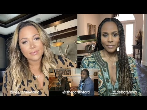Deborah Cox ,Tamia & Shep Crawford cover Whitney Houston and Cece Winans Count On Me