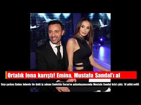 Ortalık fena karıştı! Emina, Mustafa Sandal'ı aldattı mı ?