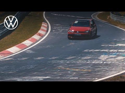 40th birthday of the Golf GTI - Nürburgring Experience   Volkswagen