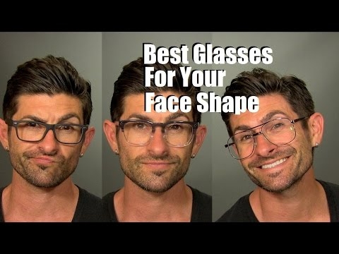 How To Choose The Best Glasses And Frames For Your Face Shape