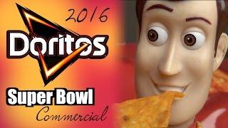 Doritos 2019 NFL Super Bowl 53 Commercial: Parody Ad - Toy Story 4 - Woody,  Buzz & Batman