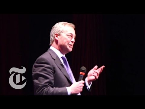 Nigel Farage 2015: UKIP Leader's Candidacy Divides a Town | The New York Times