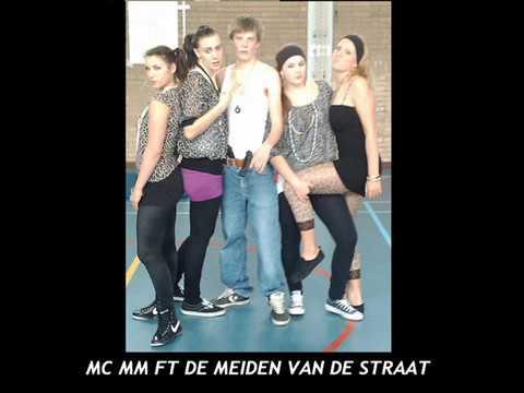 gangstermeisjes - MC MM = MARIUS MARRA DE MEIDEN VAN DE STRAAT: MAUREEN BRUINSMA ELSA PETERS ELKE VALK DEMY DE HAAN COVER GANGSTERS PARADISE CKV OPDRACHT.