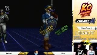 Hype Set between AZ's  1 PR and SoCal's #3 PR: Blue (Link) vs Venom (Captain Falcon)