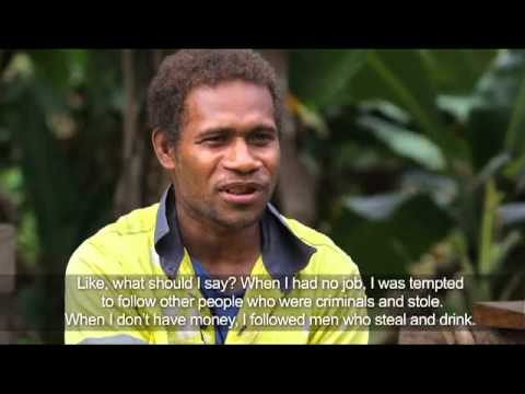 Providing a second chance for Solomon Islands youth though training and work