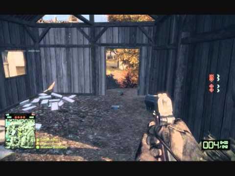 Battlefield Bad Company 2 neviditelné dveře