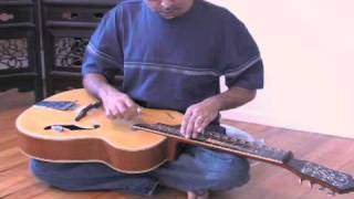How to play Mohan Veena