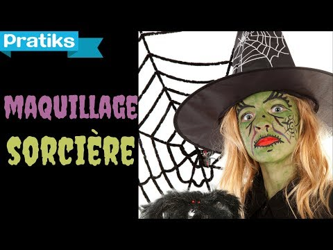 Comment faire un maquillage de sorci�re