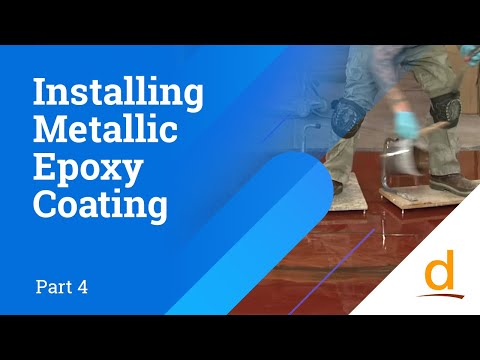 How to install Designer Epoxy Flooring System - Part 4... Watch Video ...