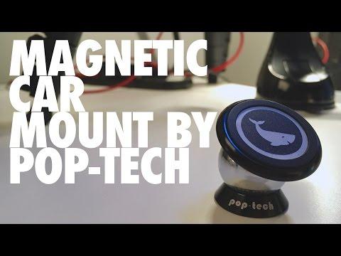 Magnetic Car Mount By Pop-Tech (видео)