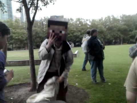 Creeper a'creeping Minecon 2010