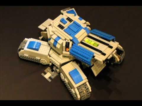 Lego Starcraft 2 Siege Tank