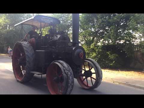Wideo1: Przejazd lokomobili podczas obchodów 100-lecia Gorzelni w Turwi