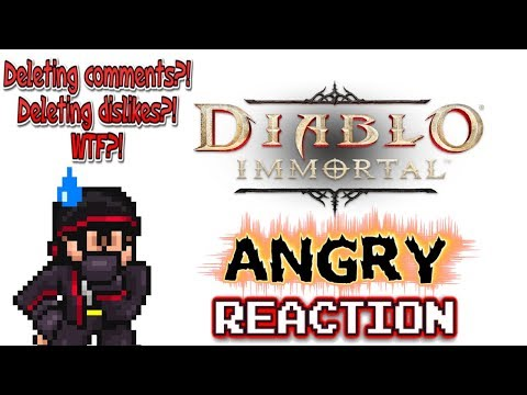 BLIZZARD, YOU MESSED UP - Krimson KB ANGRY Reacts - Diablo Immortal