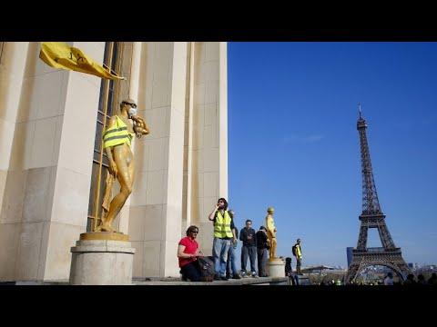 Frankreich: Die Gelbwesten geben nicht auf - 22. Samstagsdemo in Folge