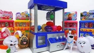 Video Secret Life of Pets and Claw Machine Game~! Trolls Mini Figures Surprise Eggs MP3, 3GP, MP4, WEBM, AVI, FLV Desember 2017