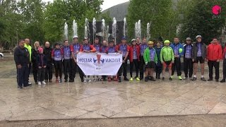 Na put dug više od 400 kilometara krenulo više od 30 biciklista