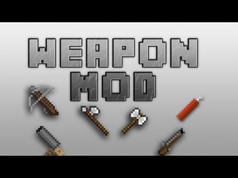 Best Minecraft 1.4.7 Mod | Balkons Weapon Mod | Cannons, Muskets, Explosives & More !