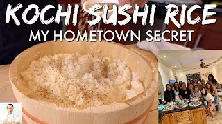 Kochi Sushi Rice | My Hometown Secret | Bachelorette Sushi Party by Diaries of a Master Sushi Chef