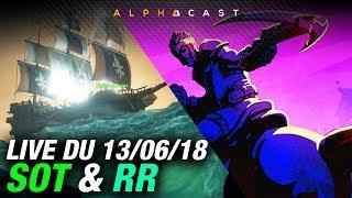 Video VOD ►Petit Sea of Thieves & Realm Royale en Squad - Live du 13/06/2018 MP3, 3GP, MP4, WEBM, AVI, FLV Juni 2018