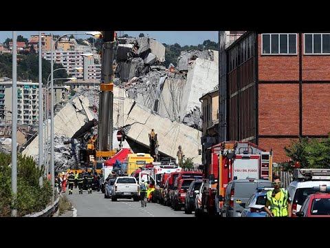 Γένοβα: Αναπάντητα ερωτήματα για την πολύνεκρη τραγωδία με την κατάρρευση γέφυρας …