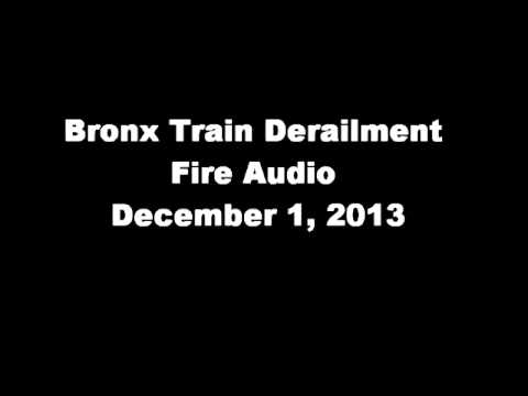 fdny - Trail Derailment FDNY audio 12/1/13 The audio has been edited. Audio used under a creative common license from Broadcastify.com.