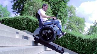 Scalevo - The Stairclimbing Wheelchair - ETH Zurich - YouTube