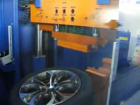 Прочность колёсных дисков WSP Italy W674 AURA на удар обода (БМВ)