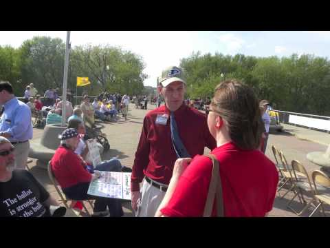 White County Tea Party Patriots join Lafayette Tax Day Rally
